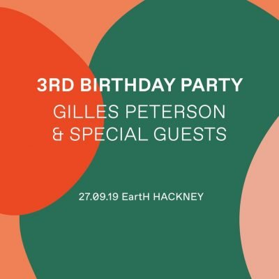 Worldwide FM 3RD Birthday Party